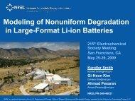 Modeling of Nonuniform Degradation in Large-Format Li-ion - NREL