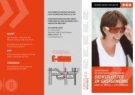 Dienstleister im gastgewerBe - BIB Augsburg gGmbH