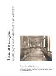 Técnica y imagen: la fotografía de arquitectura como ... - ArtCultura