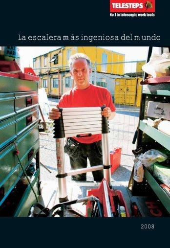 Catálogo especial escaleras telescópicas de aluminio ... - Logismarket