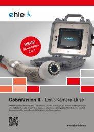 CobraVision II - Lenk-Kamera-Düse - Ehle