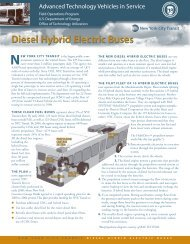 New York City Transit Diesel Hybrid Electric Buses - NREL
