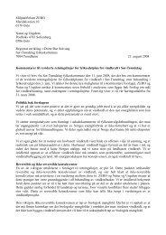 Kommentarer til reviderte retningslinjer for fylkesdelplan for ... - Zero