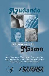 Ayudando a sanarse a sí misma - SAMHSA Store - Substance ...