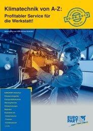 Klimatechnik von AZ: Profitabler Service für die Werkstatt!
