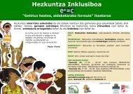 (Educación Inclusiva) - Plazo 16/11/2011