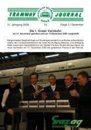 Die 1. Grazer Variobahn - Tramway Museum Graz