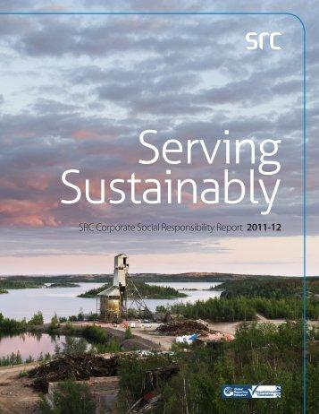 SRC Corporate Social Responsibility Report 2011-12