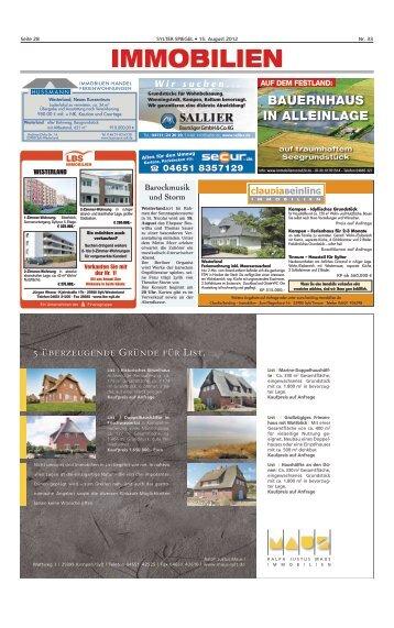 Wintergarten Sommer-Angebot 17.790,– Euro - Sylter Spiegel