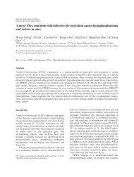 A novel Phex mutation with defective glycosylation causes ...