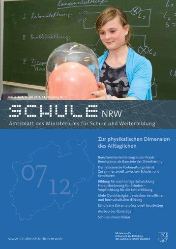 Zur physikalischen Dimension des Alltäglichen - schul-welt.de