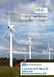 Wind Workshop - Irish Wind Energy Association
