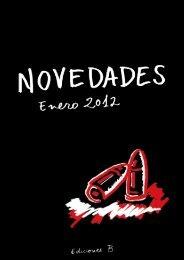 Novedades Enero 2012-Ediciones B