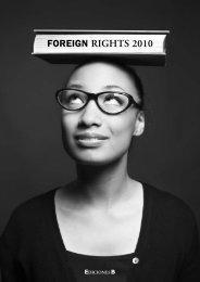 Foreign RIGHTS 2010 - Ediciones B