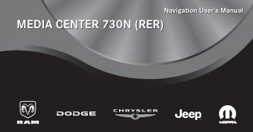 2011 - Radio Bool RER Owner's Manual - Jeep