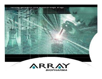 Open PDF File - Array BioPharma