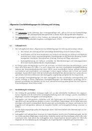 VISUS AGB für Lieferung und Leistung 2009-11 de