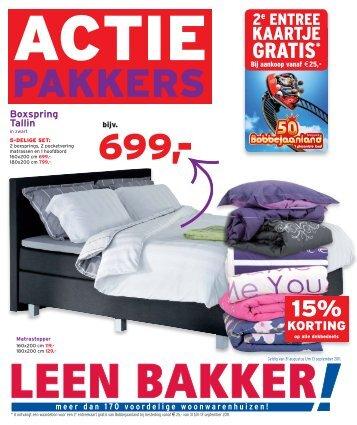 actie - Leenbakker
