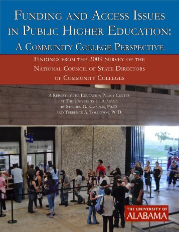 Funding and access issues in Public HigHer education: