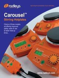 Carousel™ Stirring Hotplates - Bergman-net
