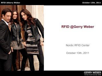 RFID @Gerry Weber - nordicrfidcenter.dk