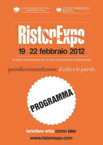 Inaugurazione ufficiale Ristorexpo