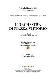 La storia dell'orchestra di Piazza Vittorio ha un sapore di Cinema