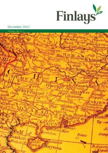 Finlays Magazine December 2012