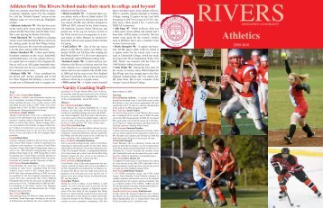 Athletics - The Rivers School