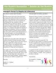 2012 October November Newsletter