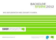 Bachelor Studie 2012 – Exposé und Angebote ... - SWOP. Exchange