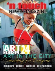 'N Touch News Magazine Issue #92, March 2012
