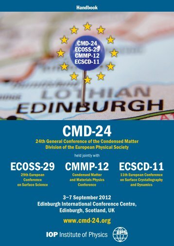 Handbook for delegates attending the conference - Cmd-24.org