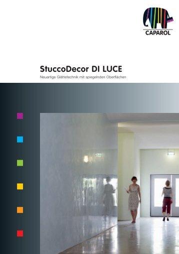 StuccoDecor DI LUCE - Synthesa