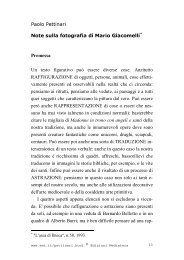 Note sulla fotografia di Mario Giacomelli - Mediateca Italiana