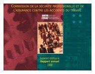 CSPAAT Supplément statistique 1998