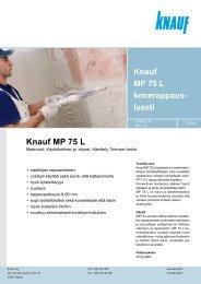 Knauf MP 75 L