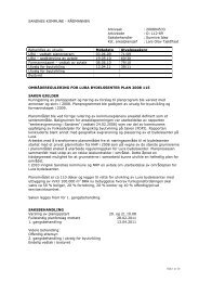 Innstilling til utvalg for byutvikling - Sandnes Kommune