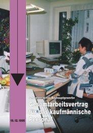Bauhauptgewerbe GAV-KV 2008--ZusatzVereinb 1999 A2008
