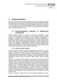 KURS 2001, aktualizácia 2006 - Ministerstvo výstavby a ...