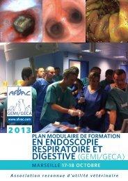 plan modulaire de formation en endoscopie - AFVAC
