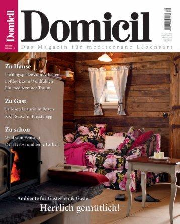 Www Domizil De www.domicil.de magazine