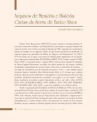 Arquivos de Memória e História - Légua & meia - Universidade ...