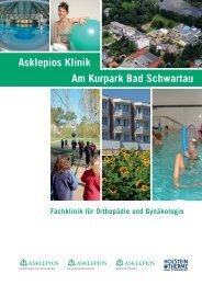 Asklepios Klinik Am Kurpark Bad Schwartau Fachklinik für ...