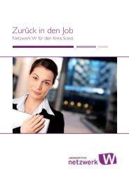 Zurück in den Job - Zentrum Frau in Beruf und Technik