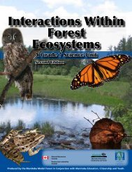 Interactions with Forest Ecosystems Curriculum - Grade 7 Science Unit