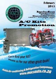 February 2013 - Kits Specials - MACS
