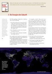 3 Die Energien der Zukunft - Entrepreneurship.de