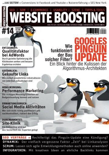 UPDATE - Website Boosting