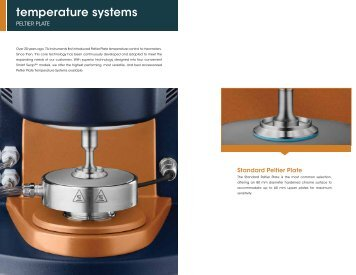 temperature systems - TA Instruments